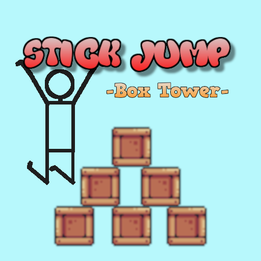 Stick Jump -Box Tower-