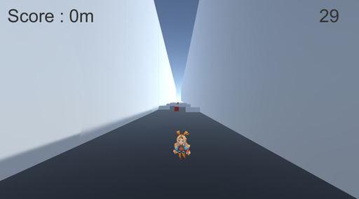 UnityChan SPACE RUN