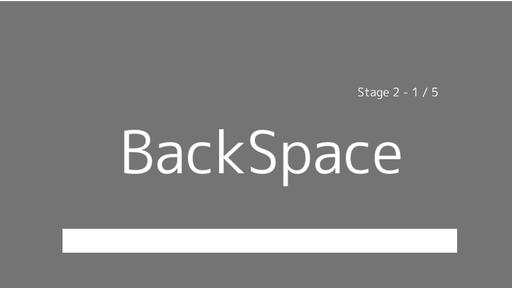 ZenkakuBackSpace
