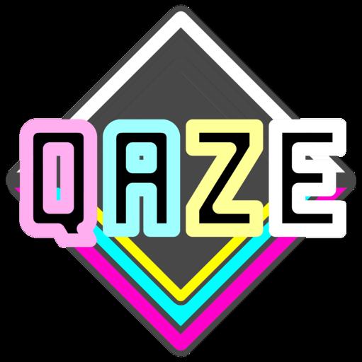 キーボードを駆使した音ゲー「QAZE」