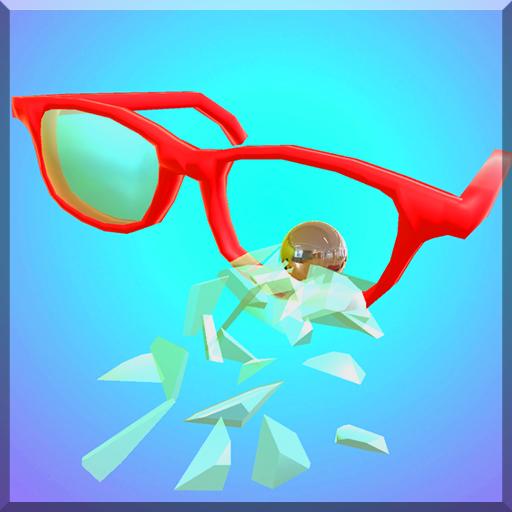 メガネ破壊シミュレーター