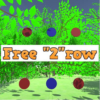 "Free ""2""row"