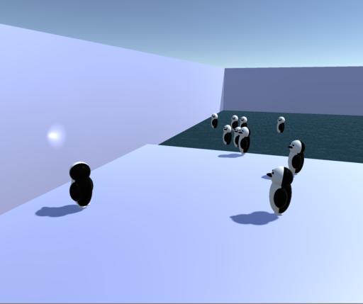 首振りペンギン