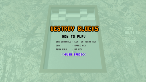 DESTROY BLOCKS
