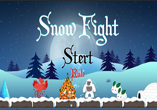 Snow Battle(by kirisawa &imamura)