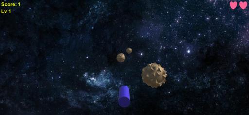 スペースインベーダー(隕石破壊ゲーム)