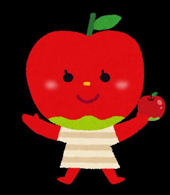 ちゅばれりんごちゃん りんごあつめ