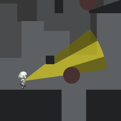 影を実体化するゲーム