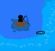 寿司職人が釣り人を海に派遣して、釣った魚で寿司を作るゲーム