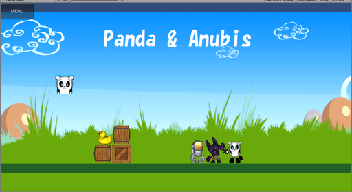 Panda and Anubis