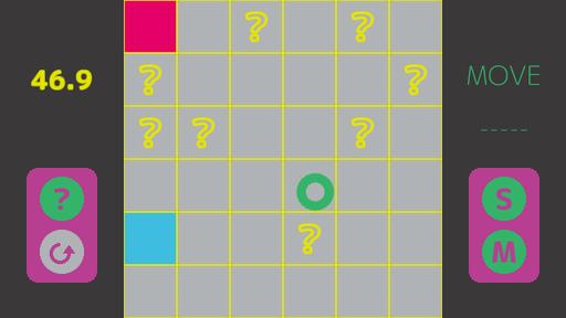 目隠し迷路-Invisible Maze-