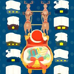 サンタが街にやってきた夜