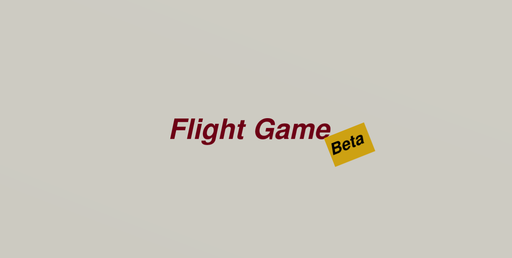 Flight Game Beta