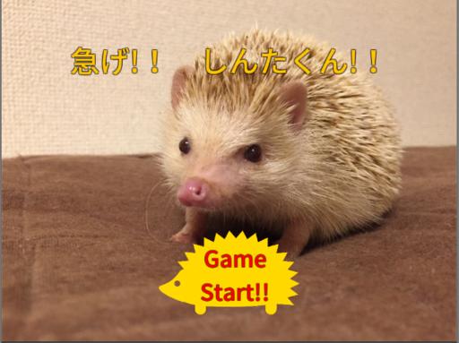 急げ!! しんたくん!!