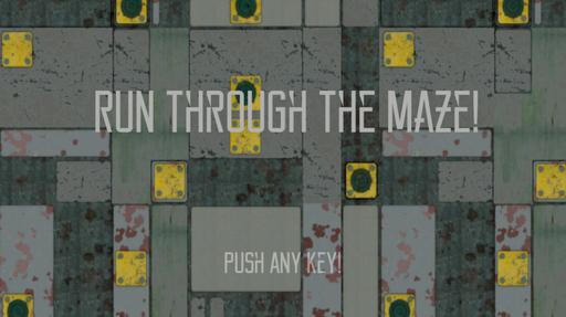 Run Through the Maze !