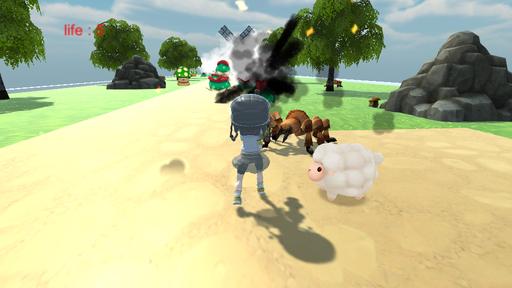 3D アクションゲーム