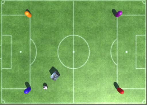 とりかごサッカーゲーム