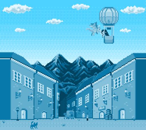 「気球に乗った少女はドラゴンと出会う」のミニゲーム
