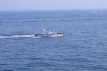 釜山港のパイロット艇(テジョンデ号)