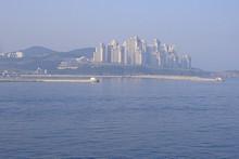 釜山の町並み
