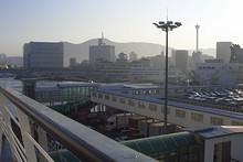 釜山に到着!