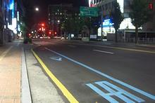 Eマート前のバス停