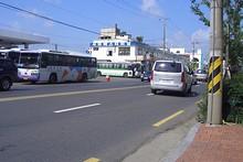 チンジュ市外バスターミナル