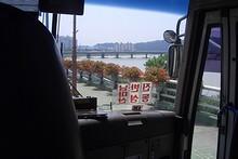 再び南江沿いを行く