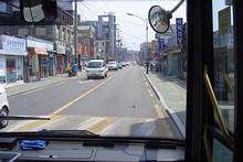 バスで駅へ戻る