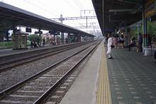 密陽駅ホーム