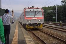 帰りの列車 ムグンファ号