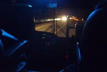 高速バスで晋州へ帰る