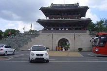 晋州城 北門