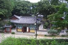 城内の伝統建築