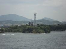 関門海峡は潮の流れがしょっちゅう変わるので、それを知らせるための表示板