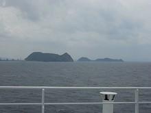 北九州の沖合いに浮かぶ島