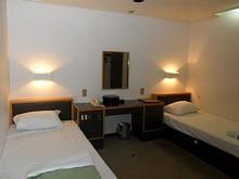 「ゆうとぴあ」号の一等船室 いつもはベッドがずらっと並んでいる2等Aだけど、今回は贅沢して1等個室を取ってみた