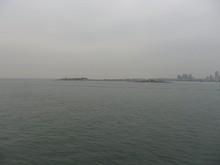 市街西端の団島