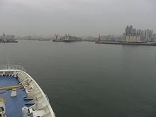 青島港入口
