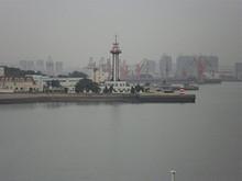接岸埠頭対岸のタワー