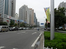 新市街高層ビル群