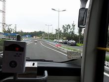 青島胶州湾トンネル入口