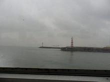 青島側埠頭