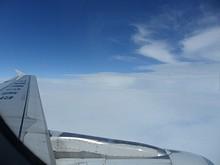 飛行ルートは、離陸後に左旋回して薛家岛VOR上空を通過。その後海岸線沿いに飛んで邳县から南下。南京に北からアプローチして、南京空港上空で左旋回。南京24番滑走路に着陸