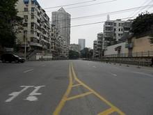 上海路 北を望む