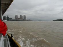 長江と南京市街