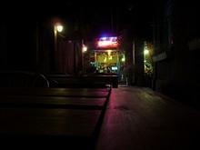 夜のユースホステル