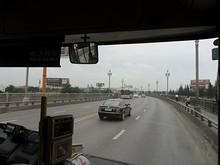 長江大橋入口