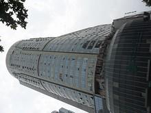 市中心の高層ビル
