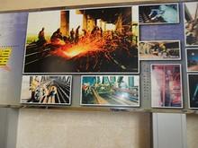 工事の様子を写した写真